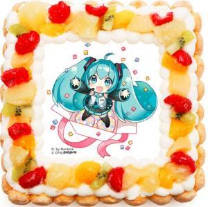 初音ミクケーキ4