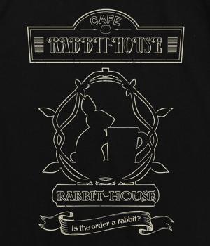 ラビットハウスTシャツptups