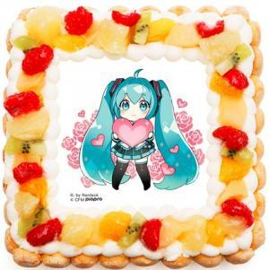 初音ミクケーキ2