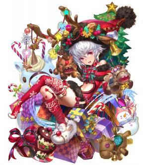 クリスマスプレゼントを貯めて、★5の限定武将をGETしよう!