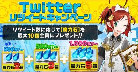 Twitterリツイートキャンペーン